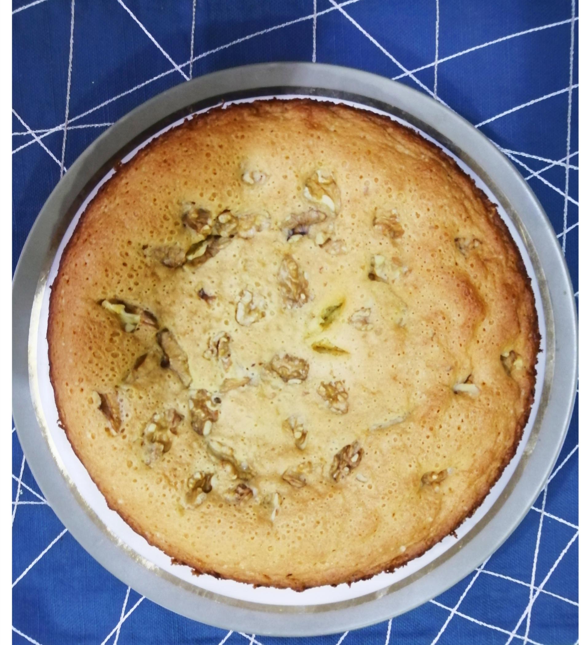 simple walnut cake recipe