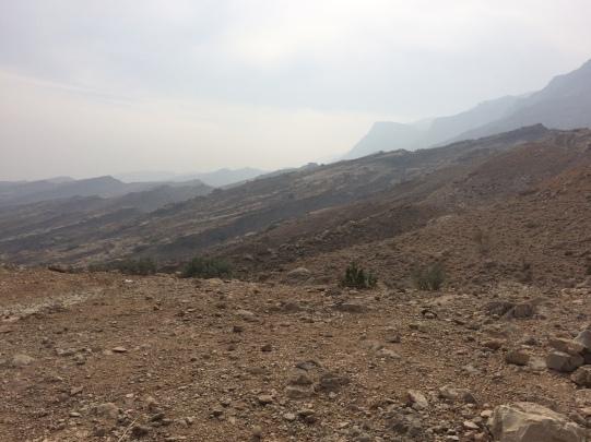 Mountain views on the way to Gorakh Hill