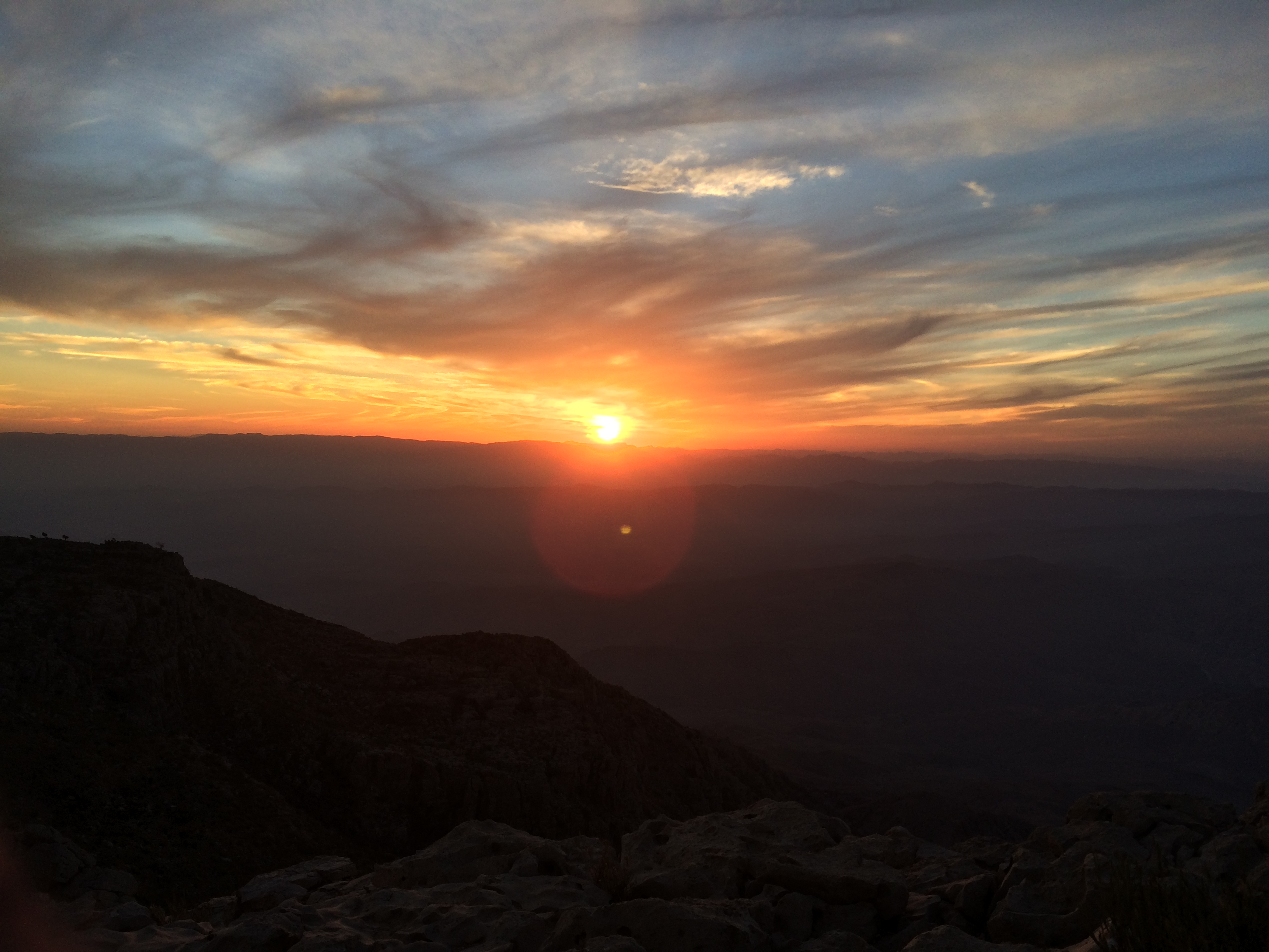 Mesmerizing sunset at Gorakh Hills