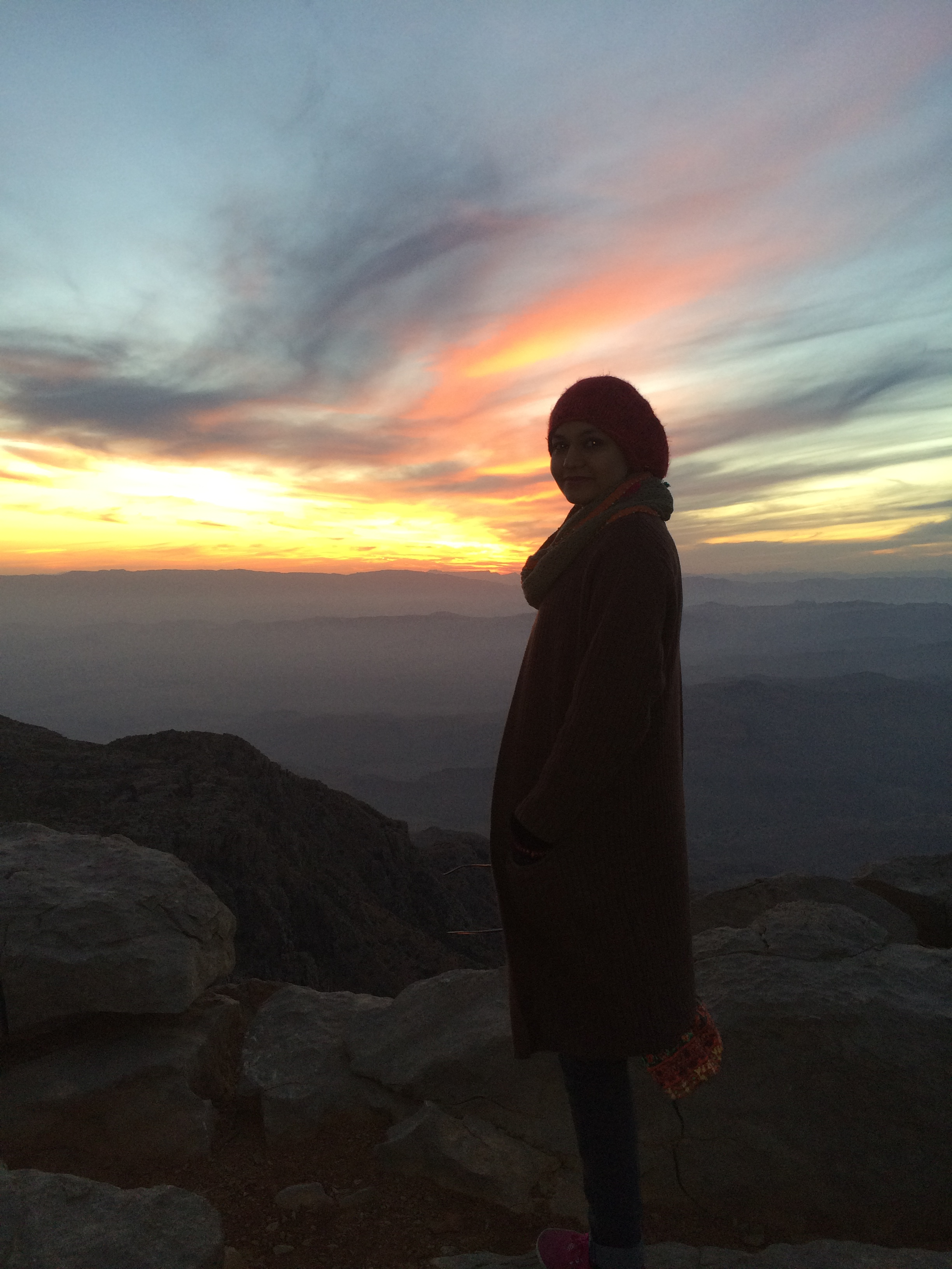 Gorakh Hills at sunset