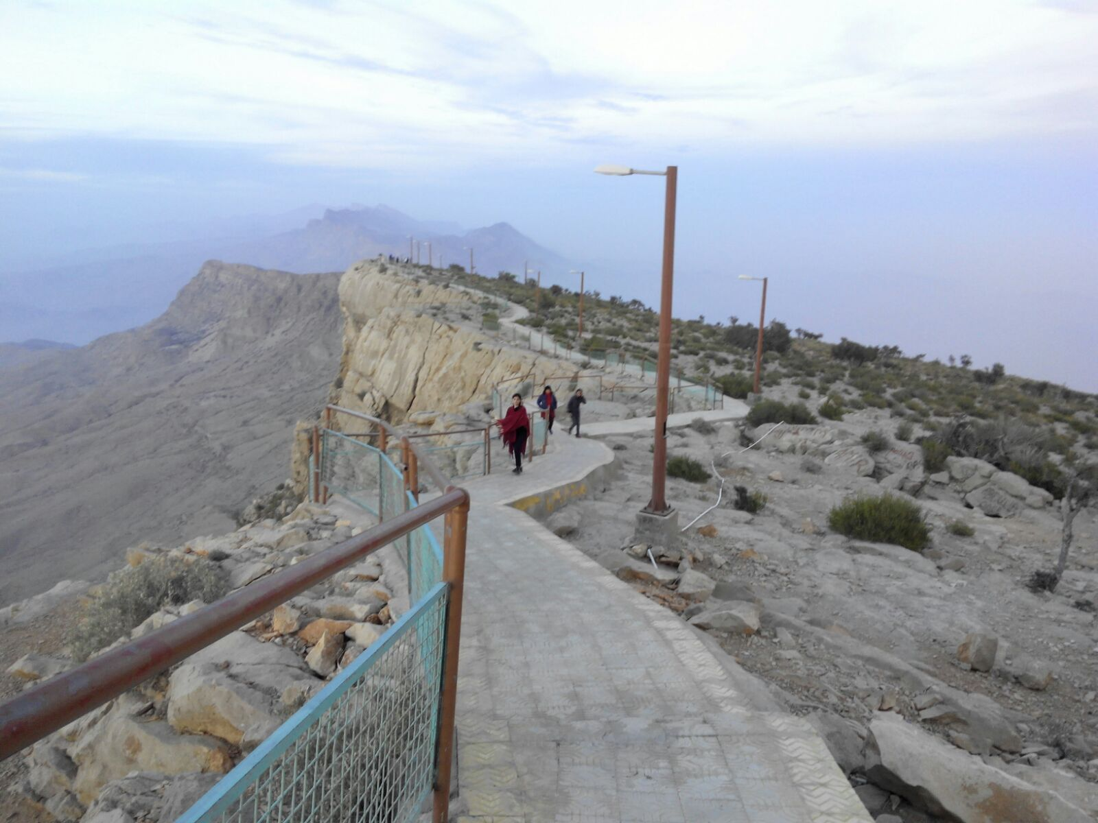 The trek to Gorakh Hills