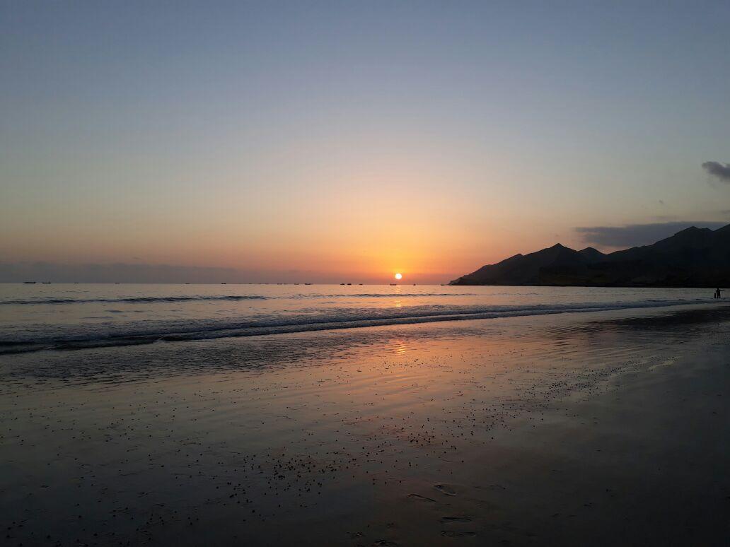 Kund Malir Beach sunset