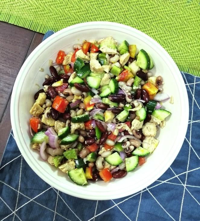 Red beans salad recipe